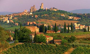 Feriehus og ferieleiligheter i Toscana